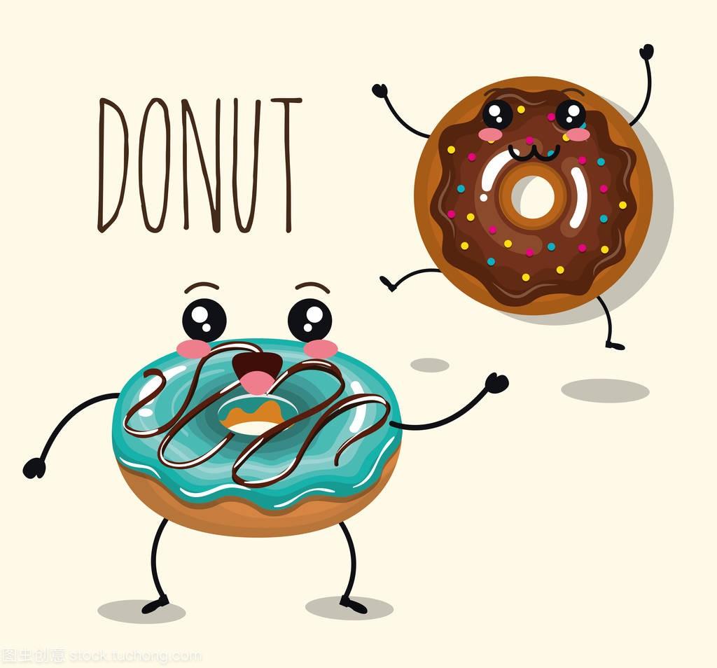 人物甜甜圈美味漫画中在的膣漫画图片