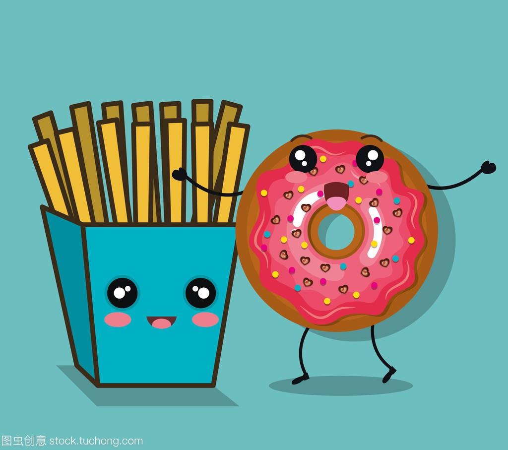 人物甜甜圈博客漫画美味漫画图片