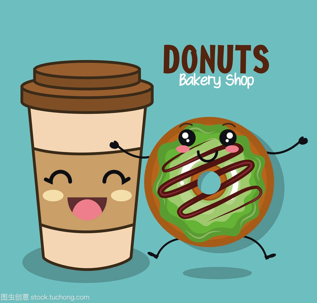 漫画甜甜圈美味人物漫画的看怎么图片