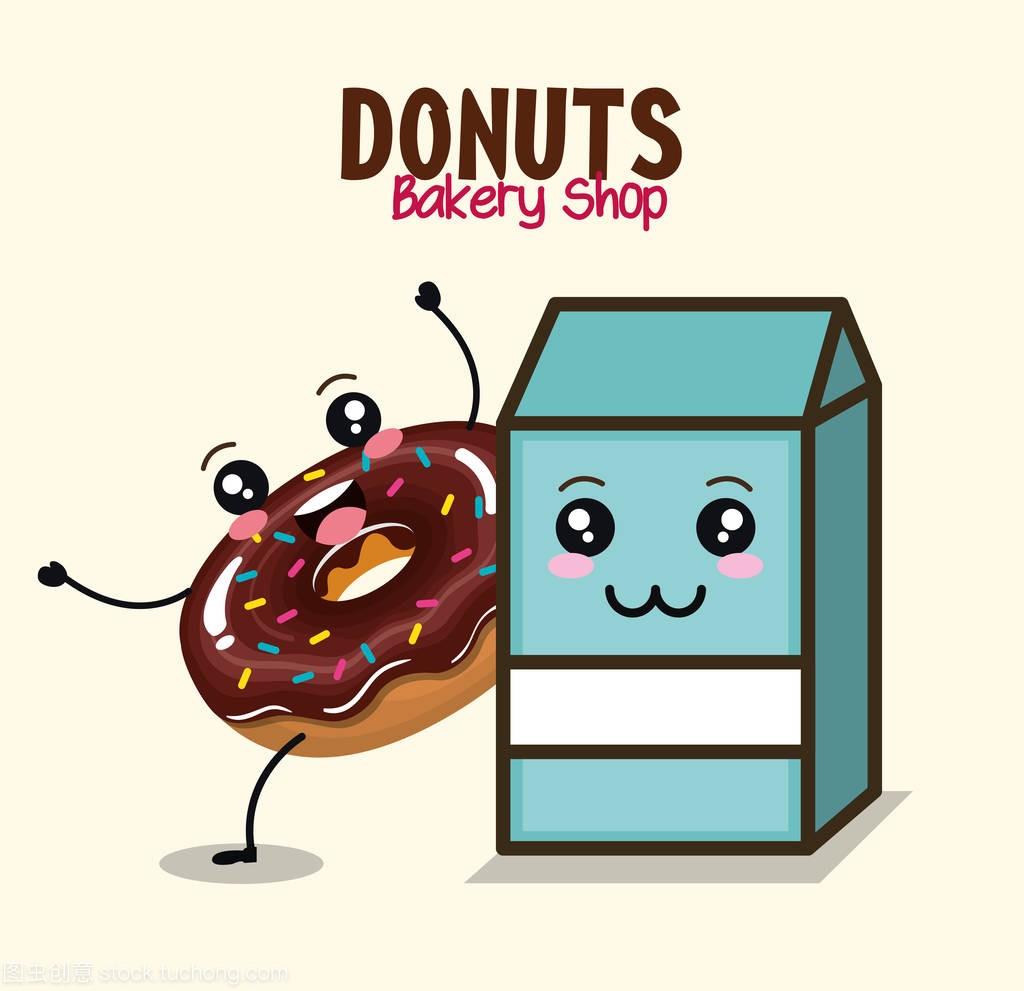 少女甜甜圈漫画美味人物漫画章鱼图片