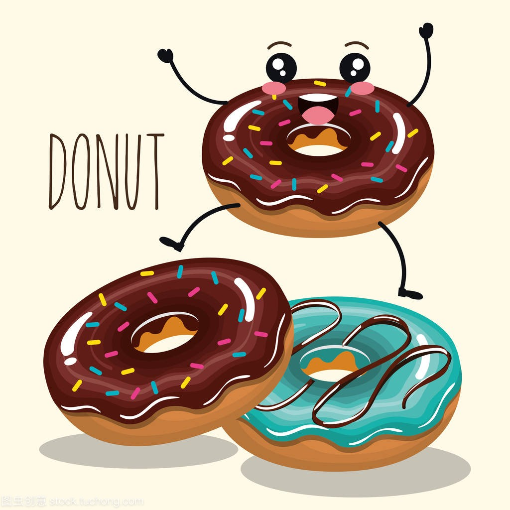 漫画甜甜圈漫画人物美味奋太奇星豆图片