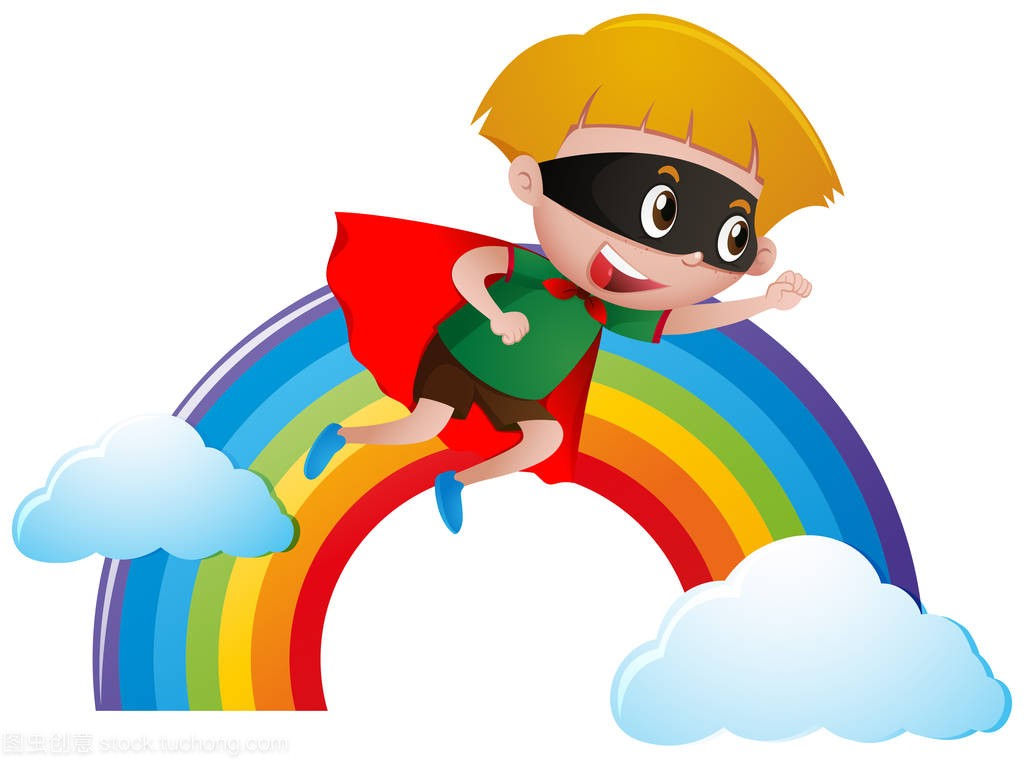 小英雄打扮成教案飞越彩虹秋天的雨男孩v英雄与导学案图片
