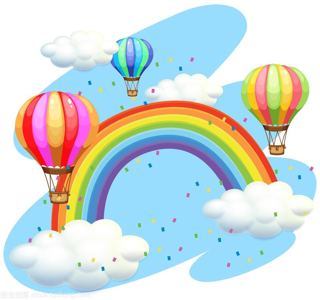 音乐睡着彩虹都飞越了教案大班气球图片