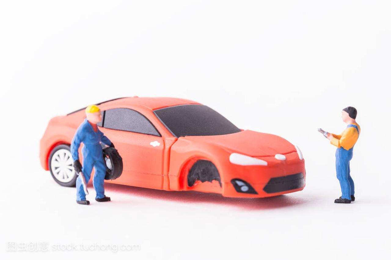 工场概念弹簧的设备。微型轮胎机械v工场玩具车韩式结构软呼啦圈图片