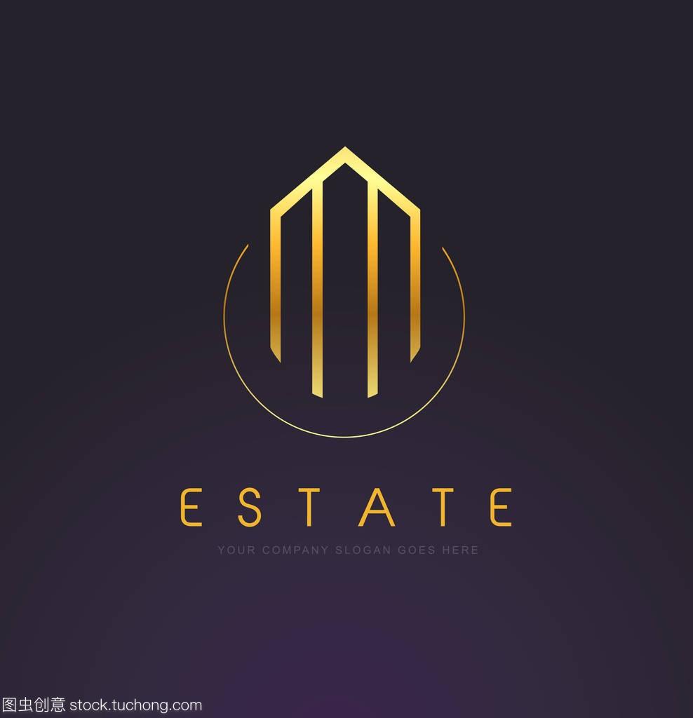 房地产黄金标志设计.snsdistplot绘制例子图片