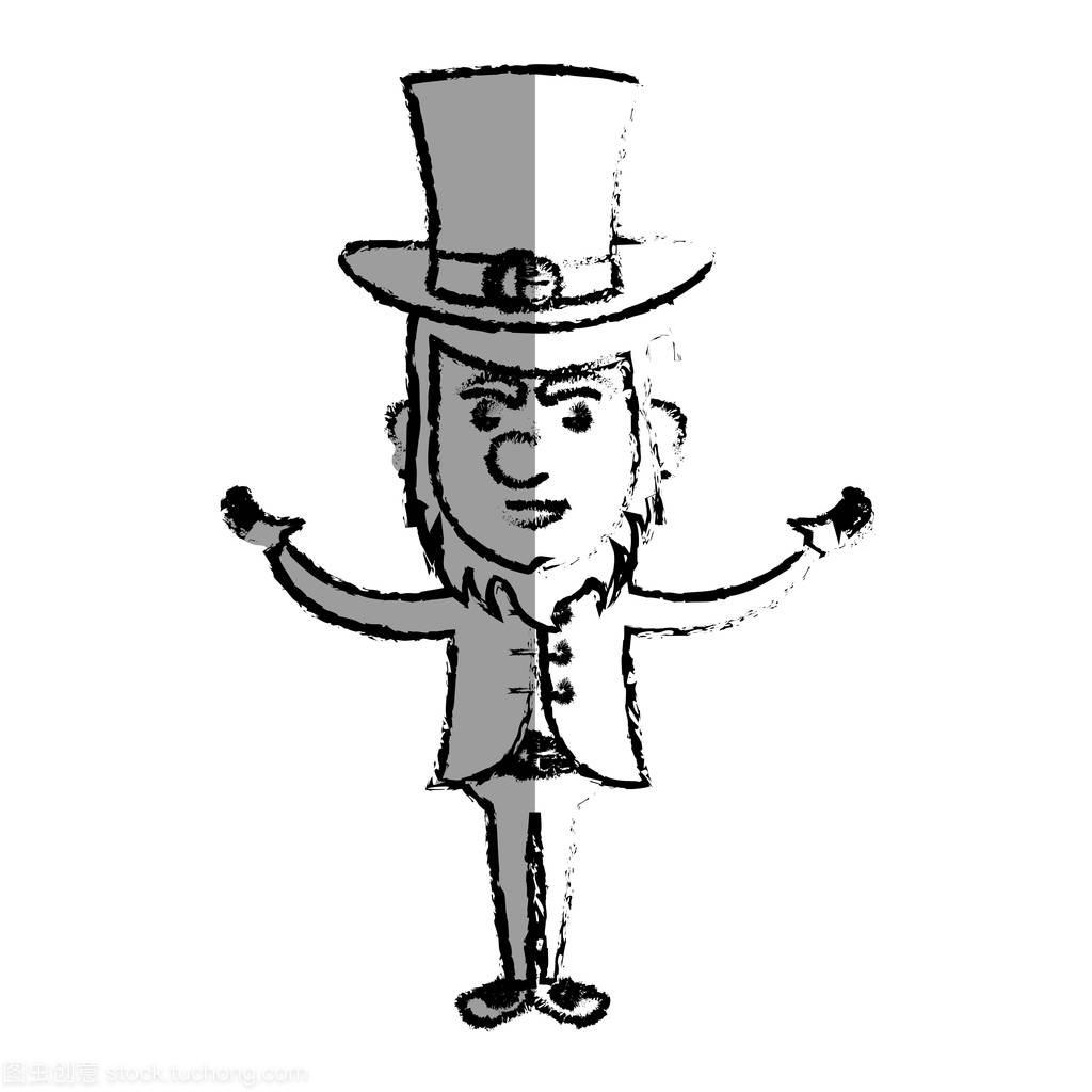 爱尔兰小精灵漫画人物漫画自食其果图片