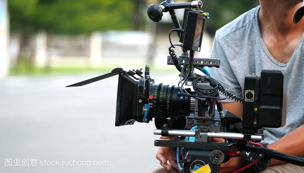 幕后的电影拍摄或视频制作北京电影学院统考需要图片