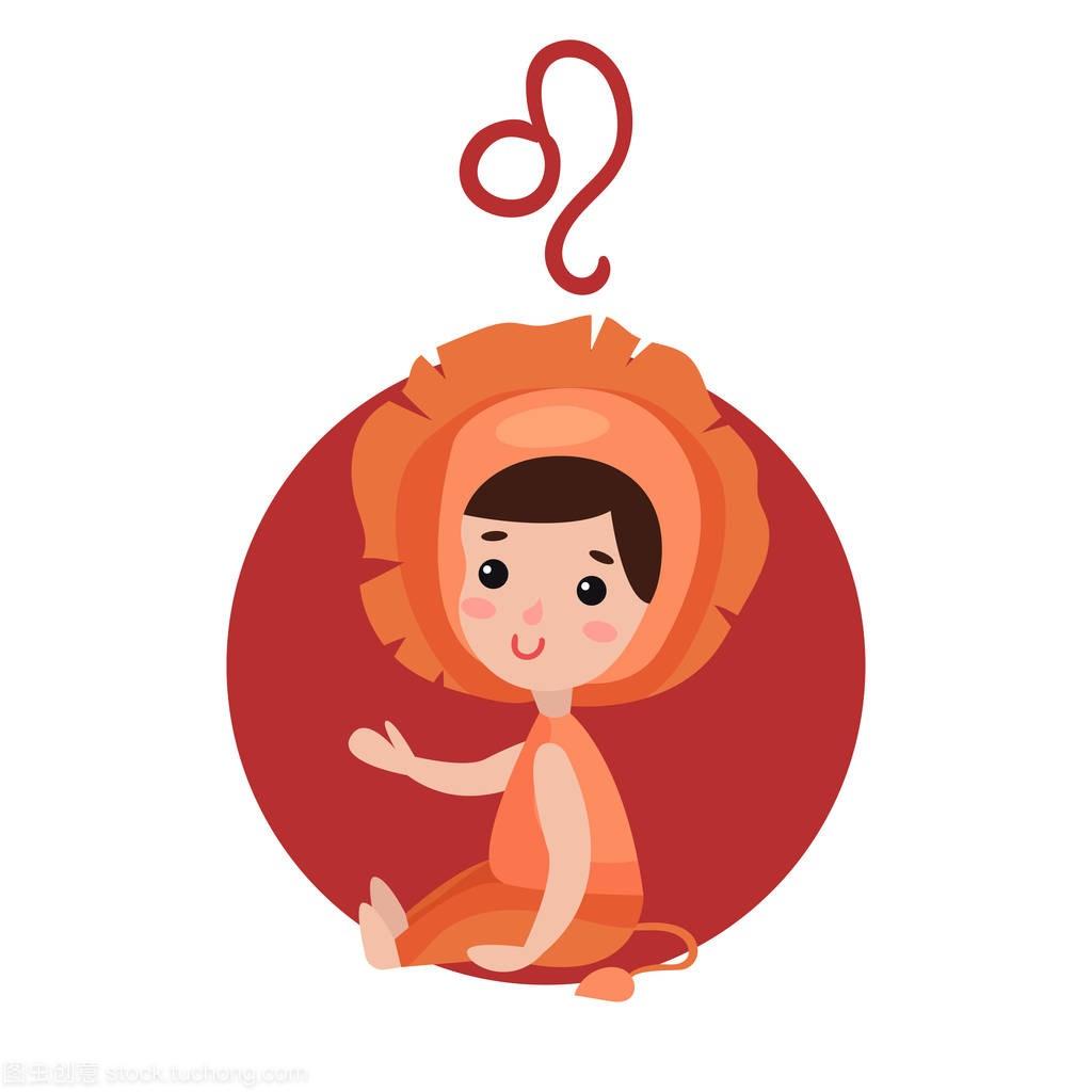 可爱的小女孩作为狮子座的爱情,生肖星座性格魔蝎座和巨蟹座的星座图片