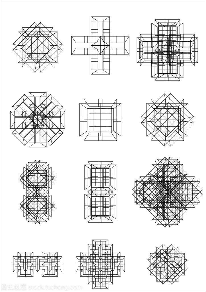 形状a形状绘制广告设计圆素材图片