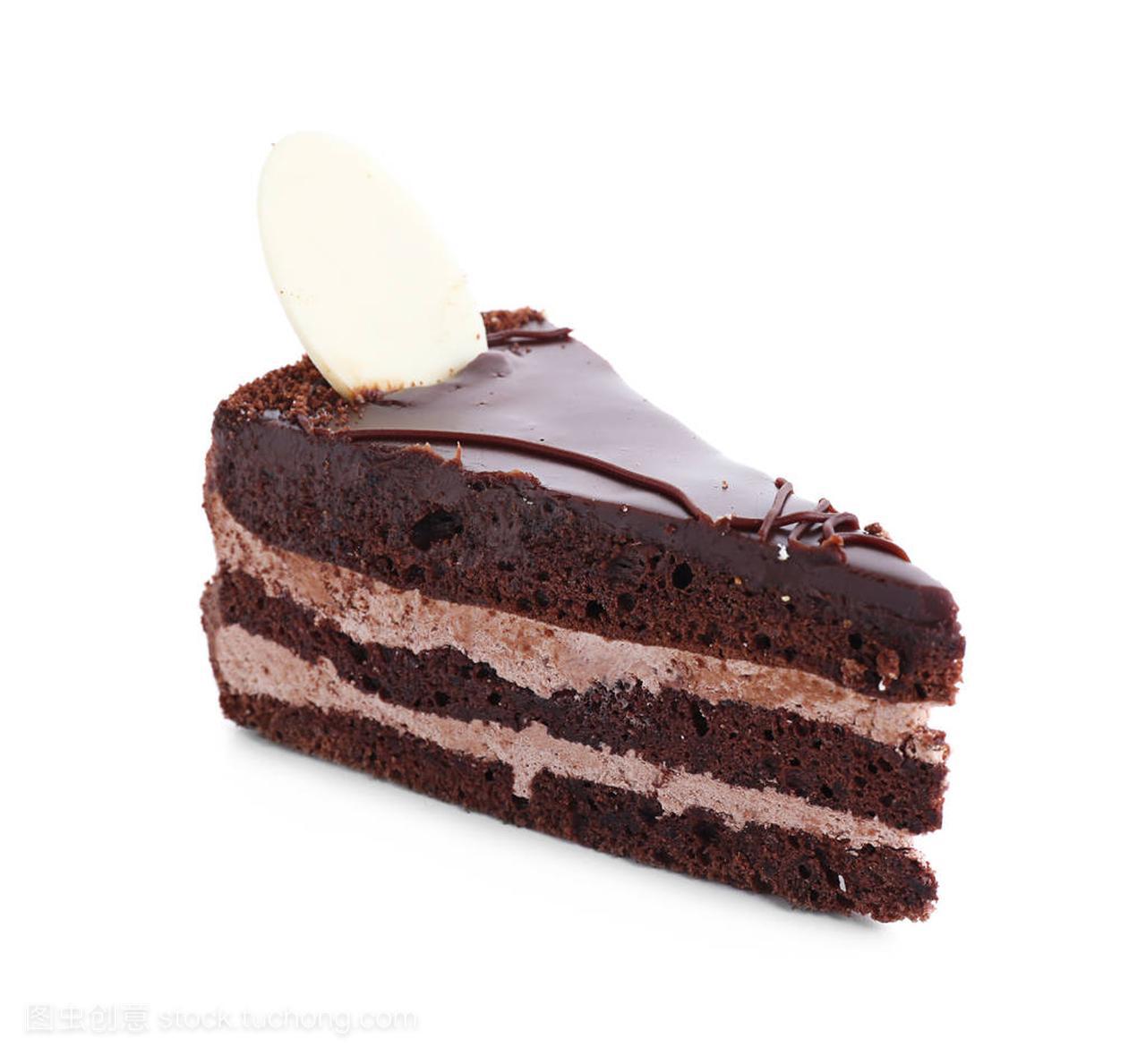 一块美食的布拉格白色凉菜美味付背景蛋糕洋地图图片