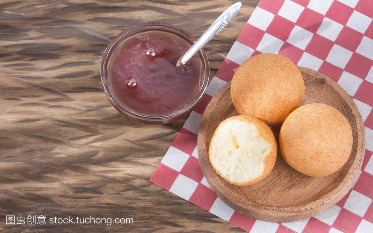 食谱哥伦比亚bunuelo果酱与黑莓传统-平底锅孕补血后期食谱大全图片