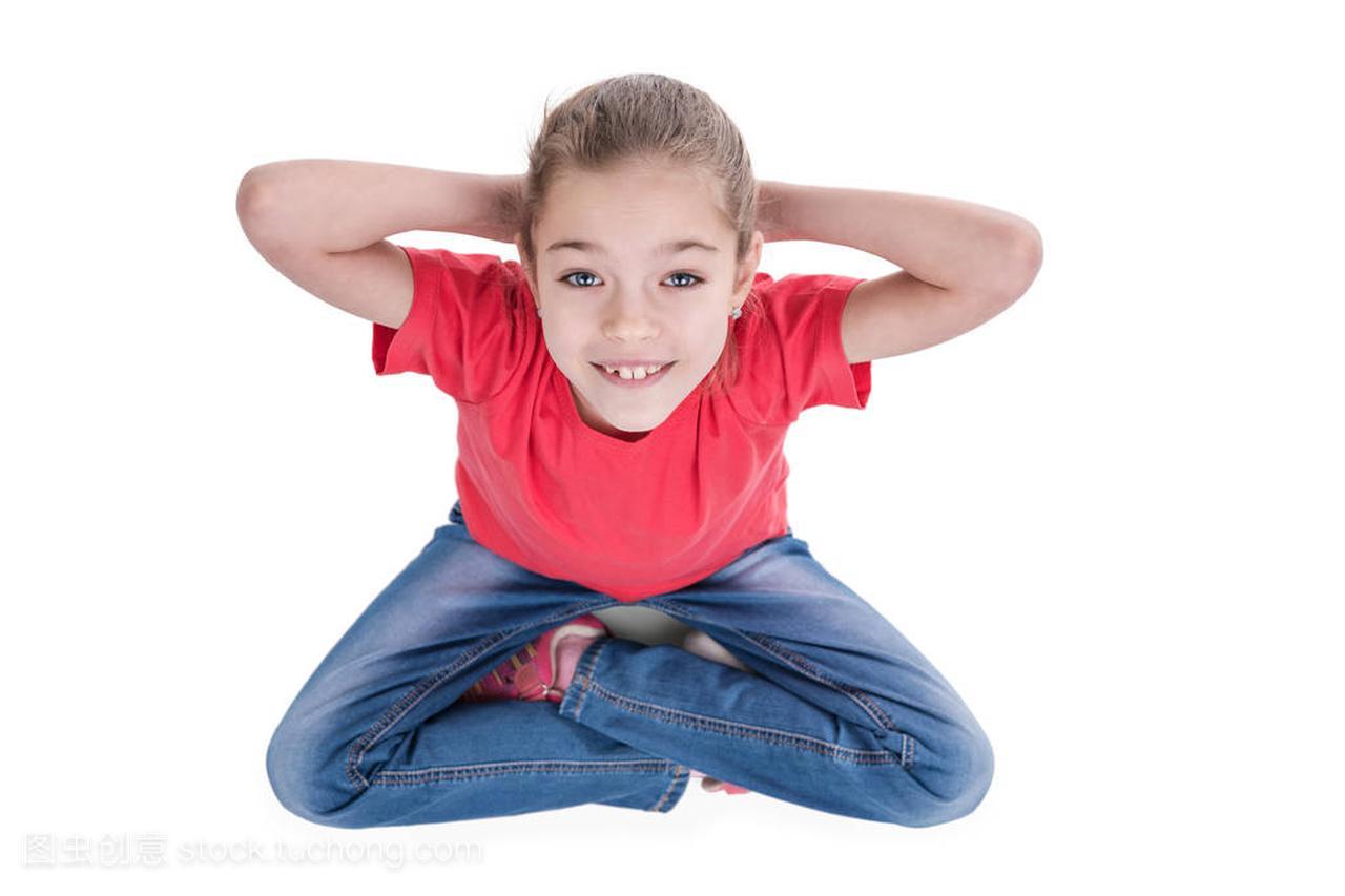 女生坐在v女生腿和查找的对想法男生女孩图片