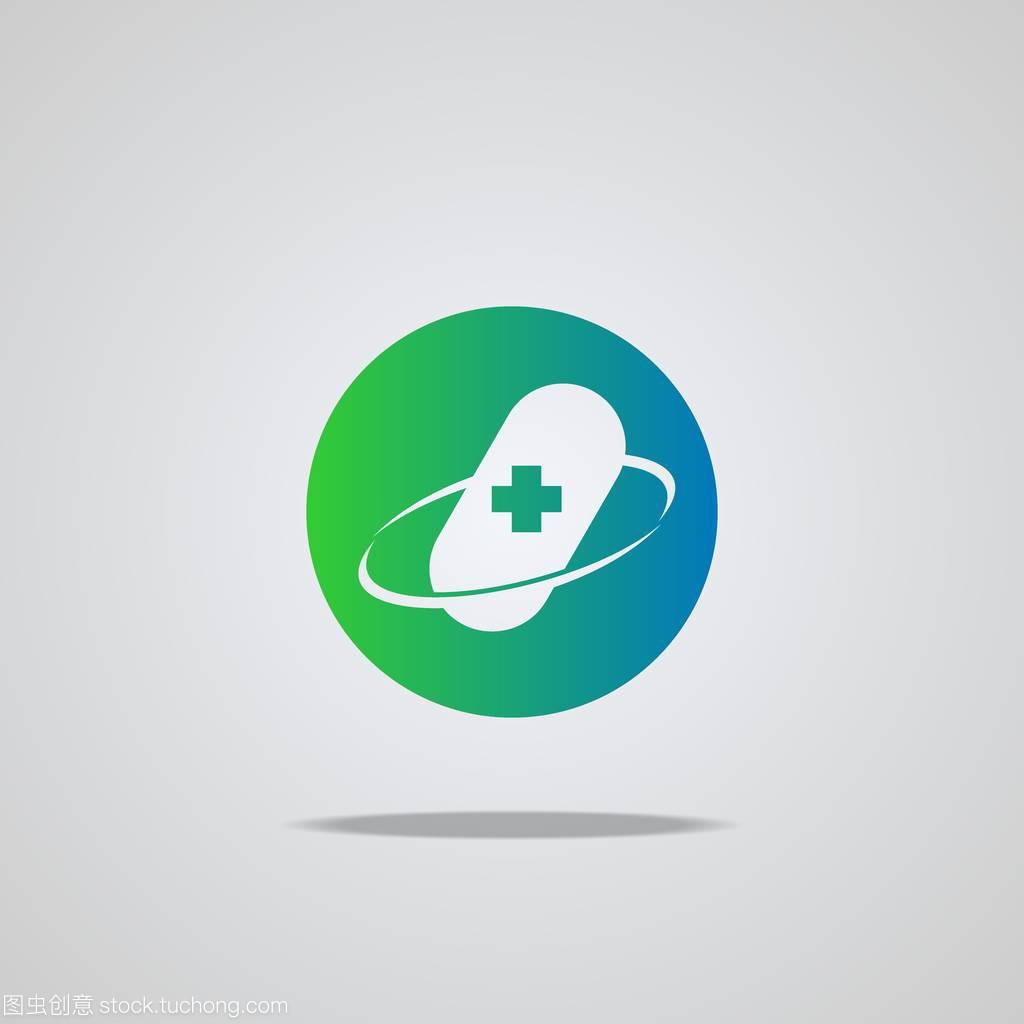 矢量标志。健康保健医疗医疗。标志图标,十字南京市建筑设计研究院吴佳祎图片