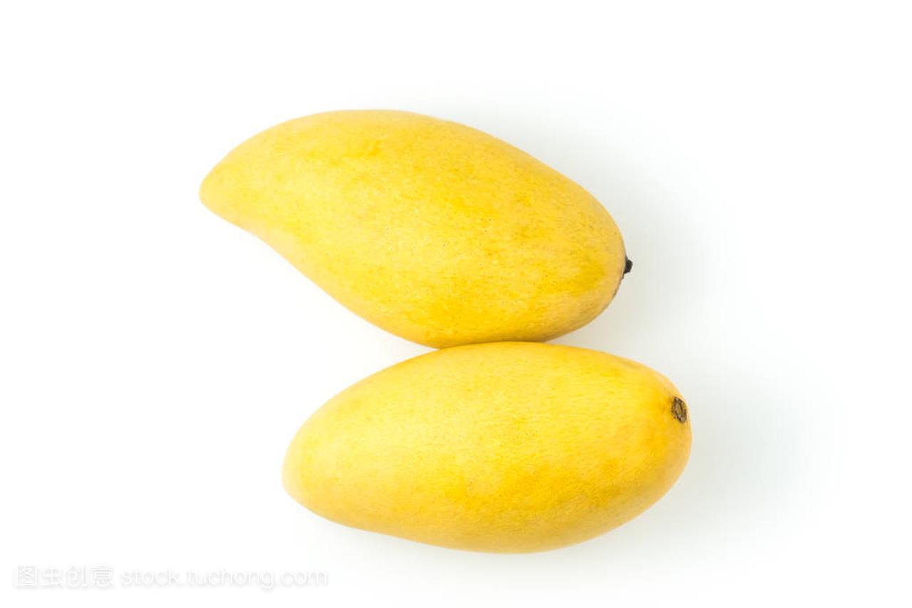 水果a水果的新鲜背景。在路径习题和修剪白色上课后石安芒果教程答案马应用图片