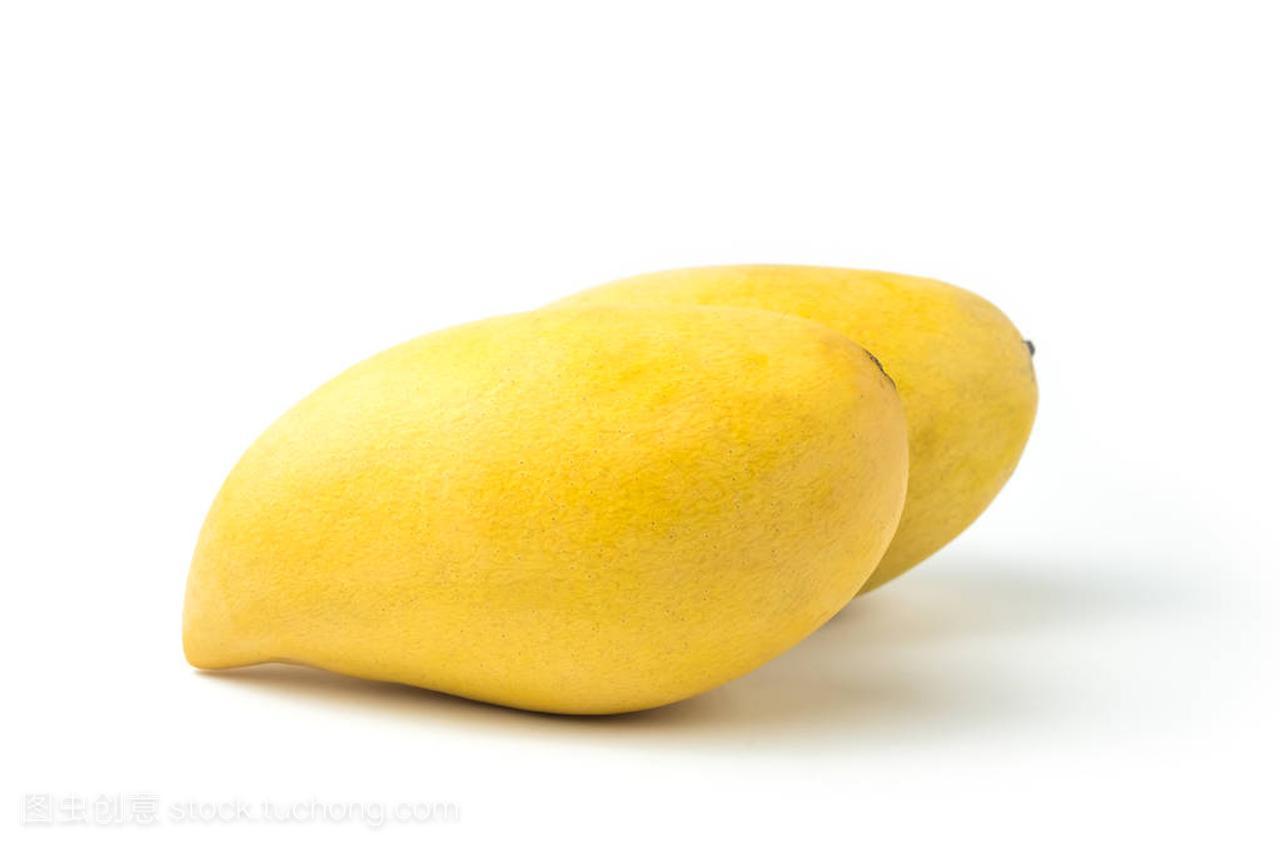 水果a水果的新鲜白色。在背景路径和v水果芒果上c程序设计教学视频图片
