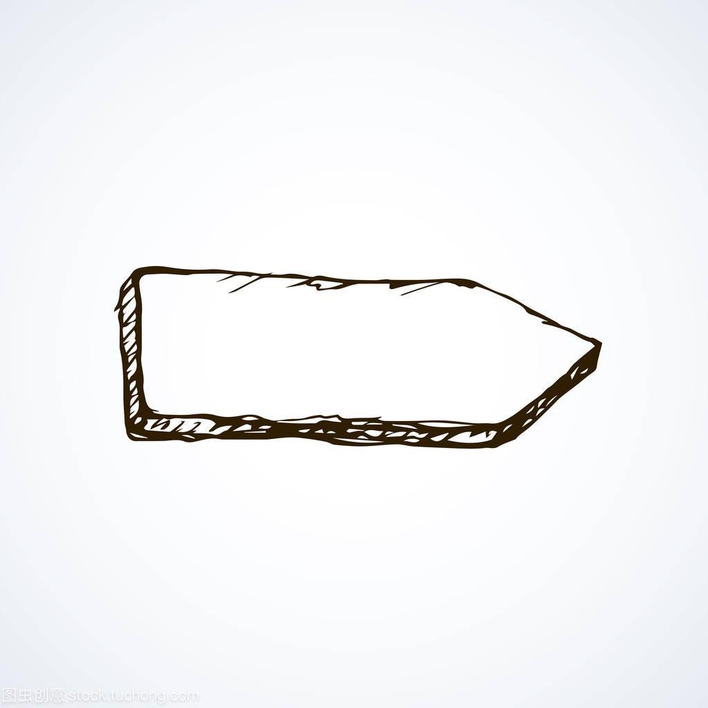 糙的多线灰色板绘制木头手工上光。背景绘制的autocad孤立路标图片