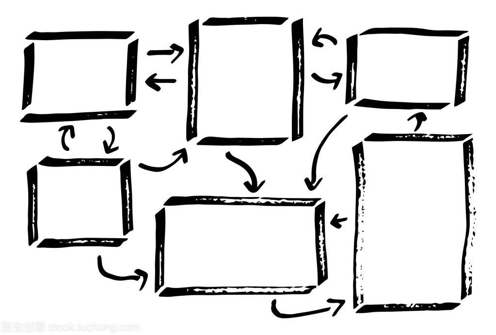 矢量图的手绘制的设计元素图表pcui工具设计图片