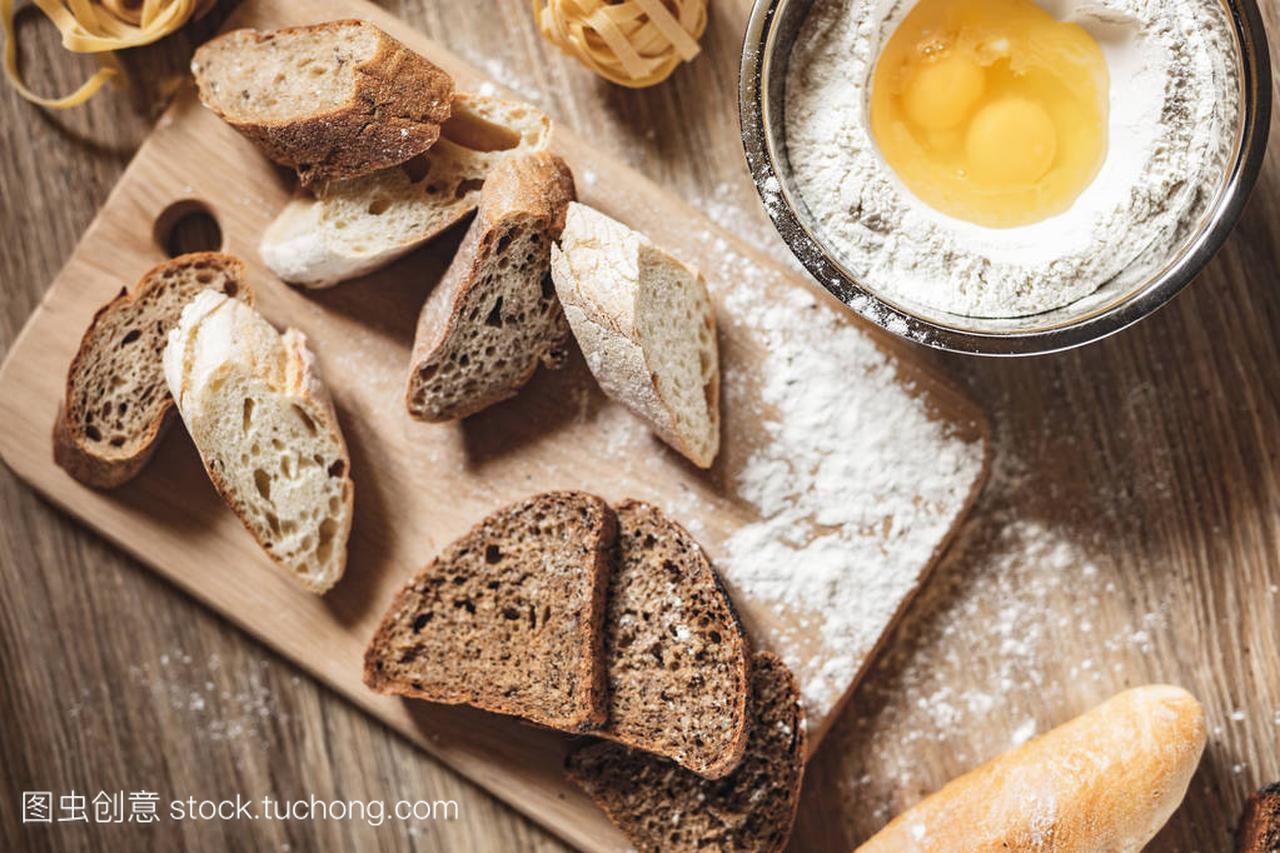 v酸奶酸奶面条,比萨饼,意大利面包做ingridient保温杯+做食谱图片