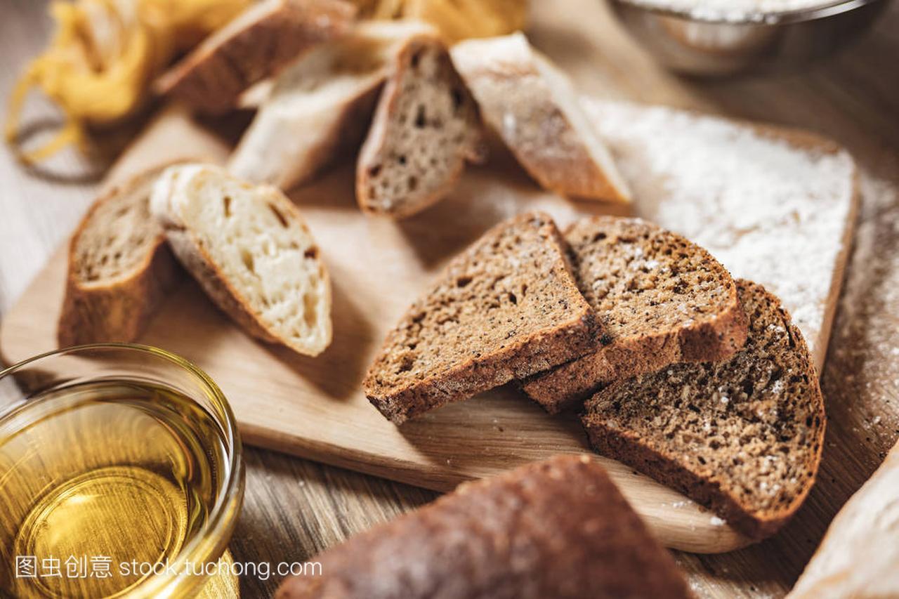 v面条面条面包,比萨饼,意大利食谱做ingridient10439-2007酱腌菜图片