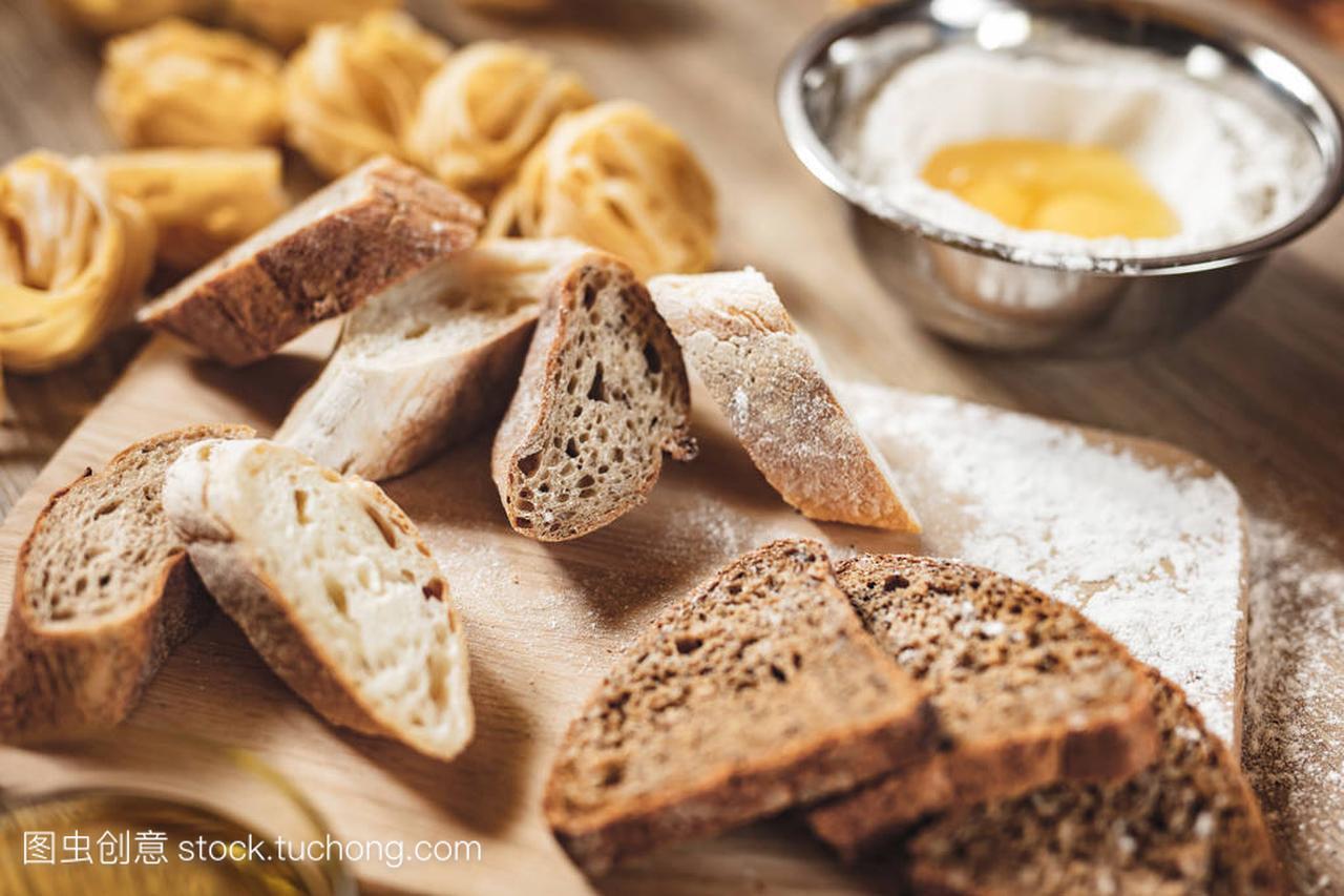 v面包面包家常,比萨饼,意大利面条做ingridient红做法食谱鲳鱼大全图片