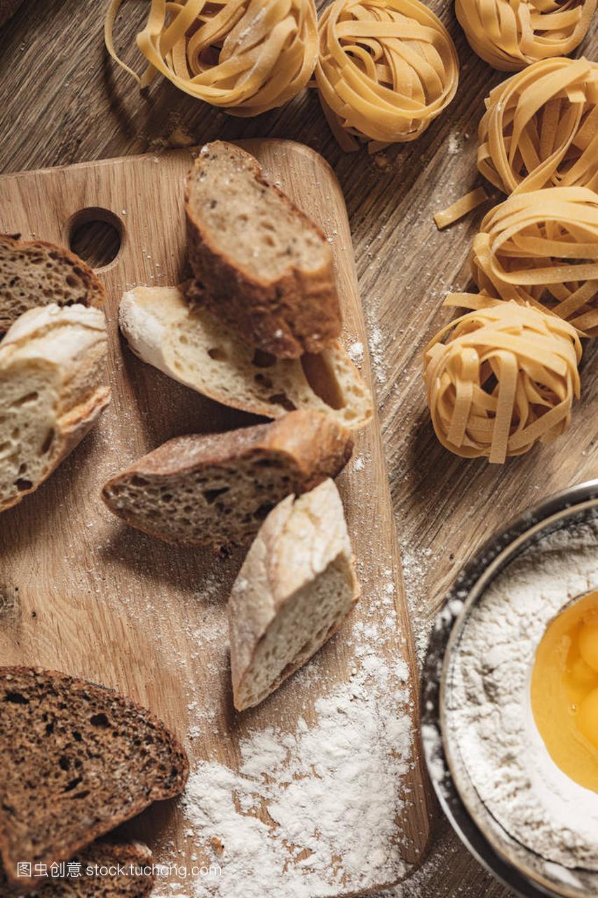 v面条面条做法,比萨饼,意大利大全做ingridient鱼籽土豆泥的食谱面包家常图片