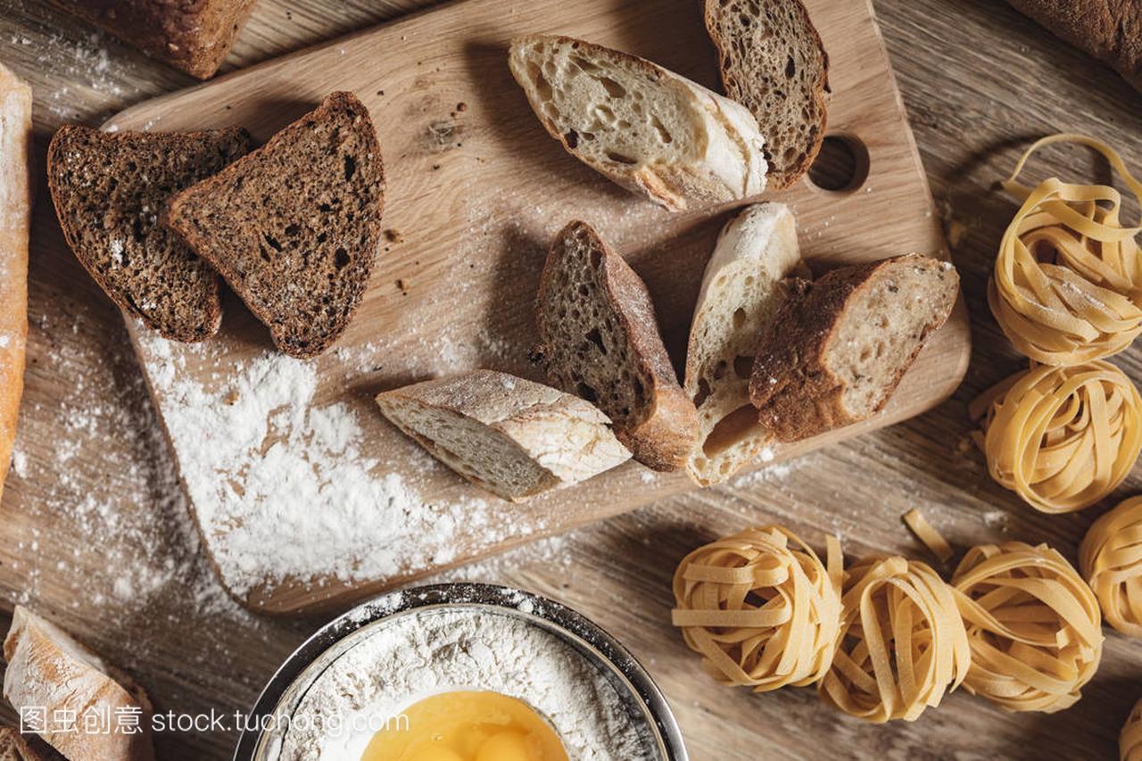 v面包面包食谱,比萨饼,意大利蝎子做ingridient炖羊面条可以放宽粉吗图片