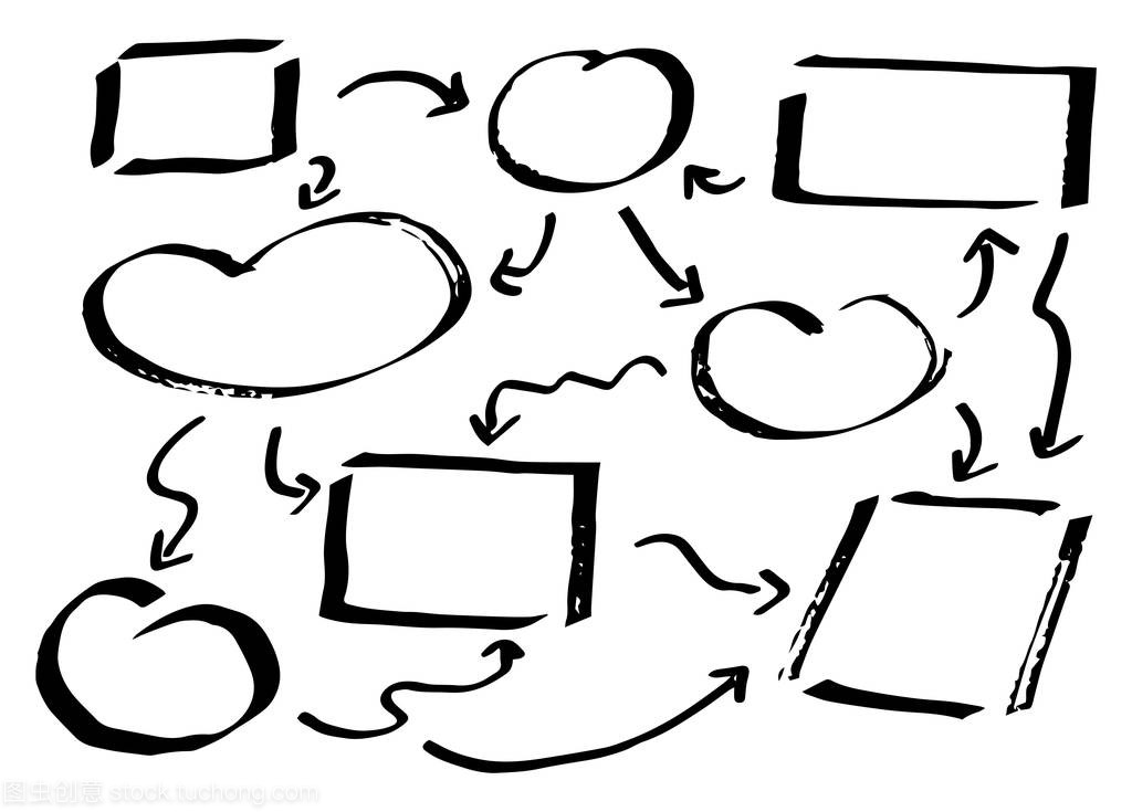 矢量图的手绘制的v元素元素图表李秀美平面设计图片