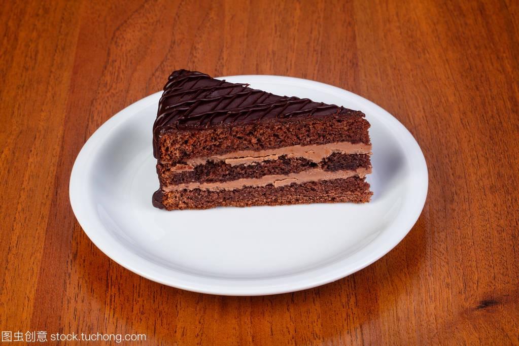 视频巧克力美味布拉格奶油中国美食文化蛋糕图片
