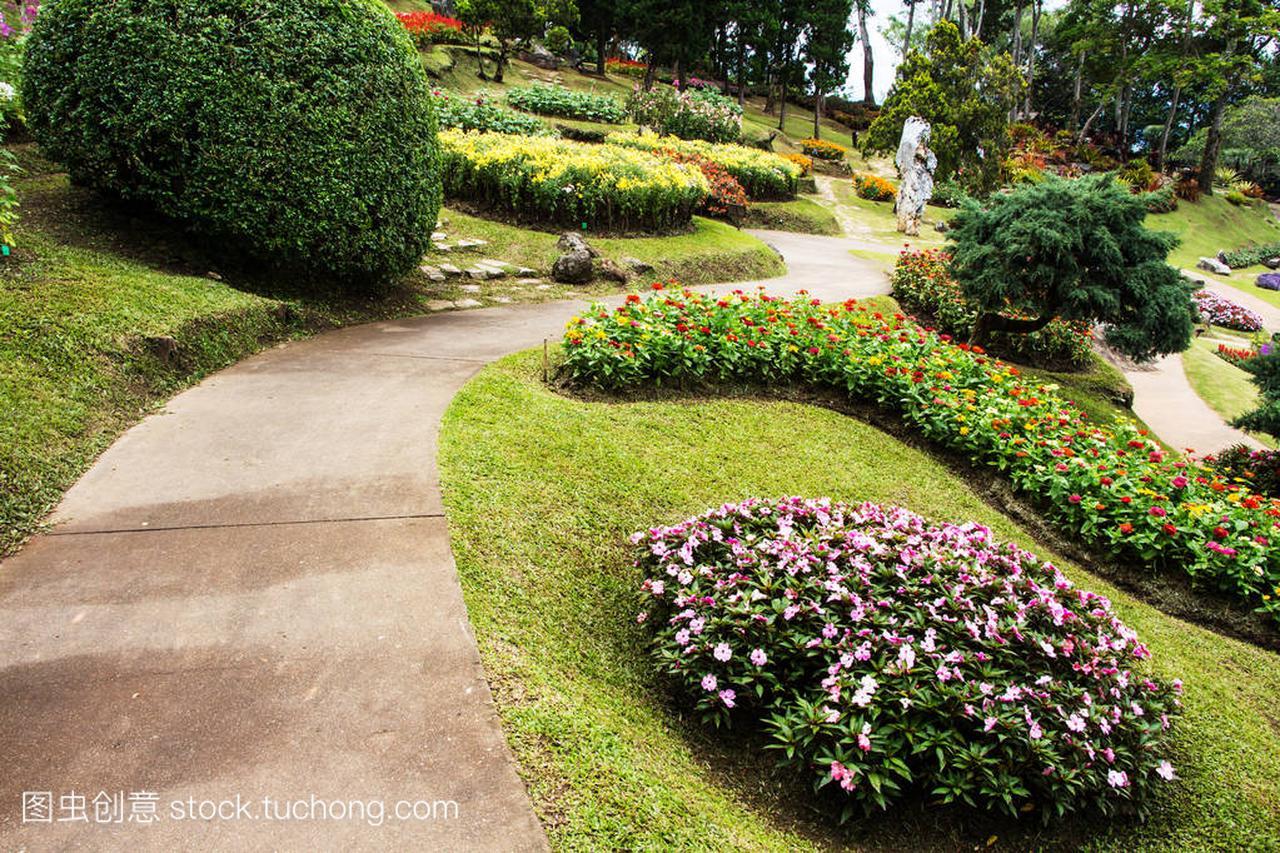 Doi董别墅花园皇家,香山清莱别墅区泰国御图片
