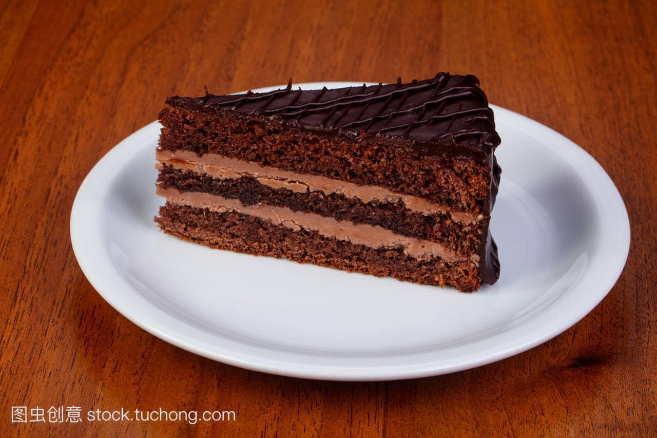 奶油巧克力美味布拉格风味蛋糕美食丹东韩式图片