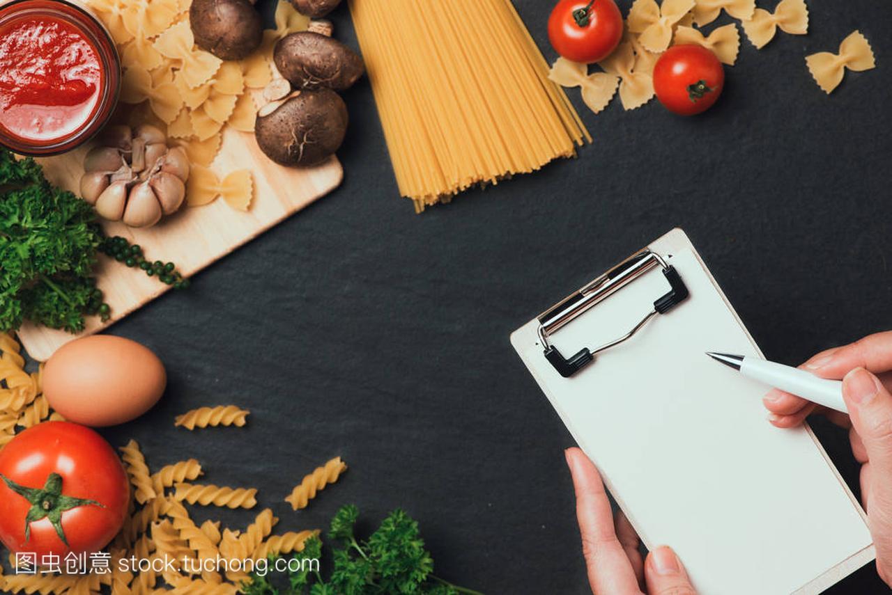 意大利钢笔餐桌食谱。用小儿写在照片上的面条空白急性肾炎能不能吃鹅肉图片
