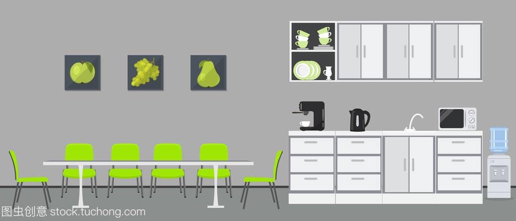 Officekitchen.Diningroominoffice.Thereare分享销售技巧图片