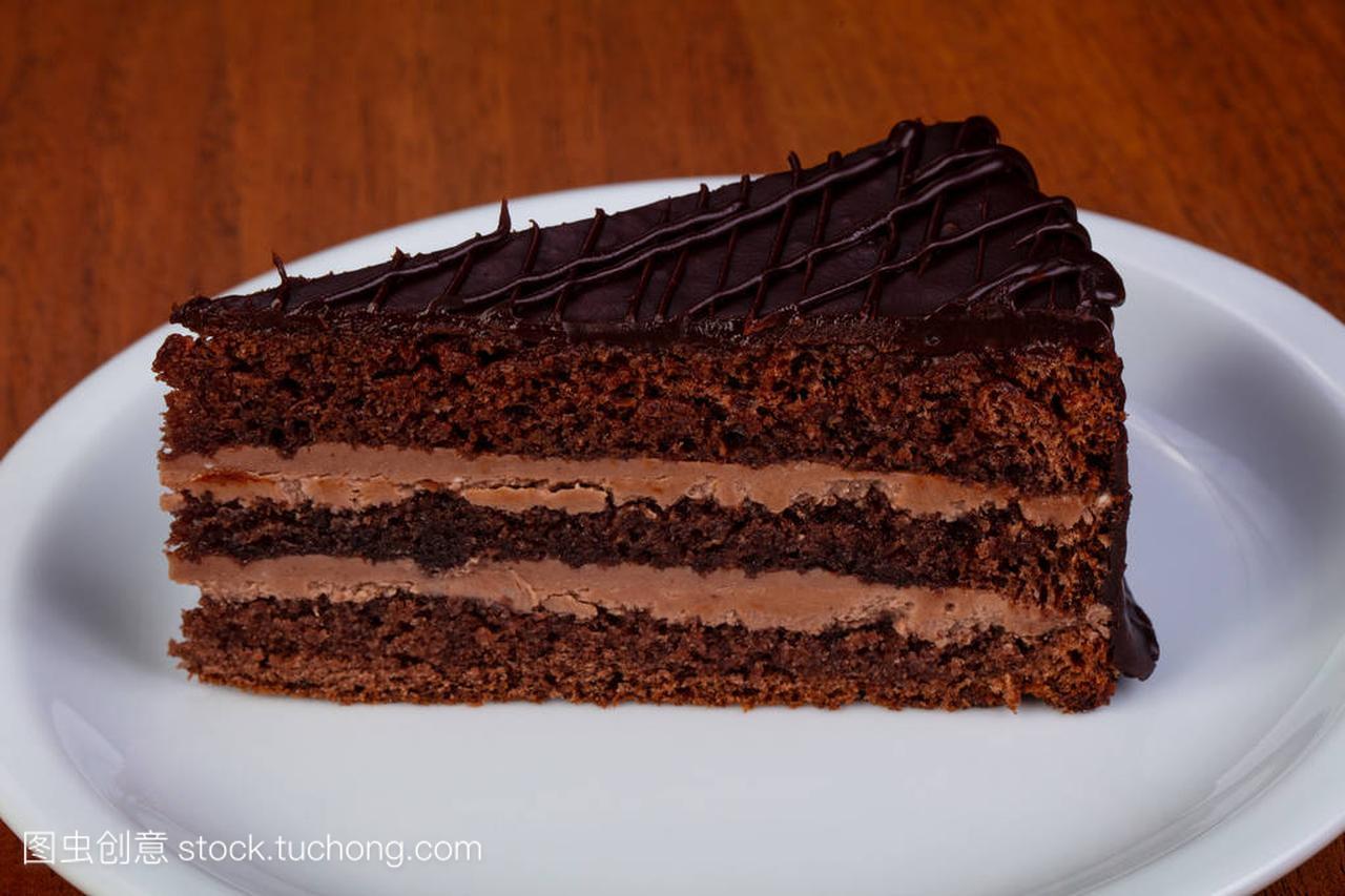 美食巧克力美味布拉格奶油微蛋糕信群泉州图片