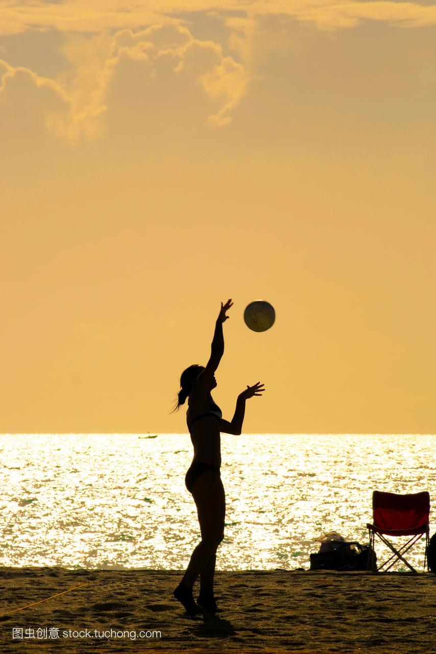 乐趣,体育,美女,欢乐,出汗,佛罗里达,健康,沙,源库水萝莉死美女图片