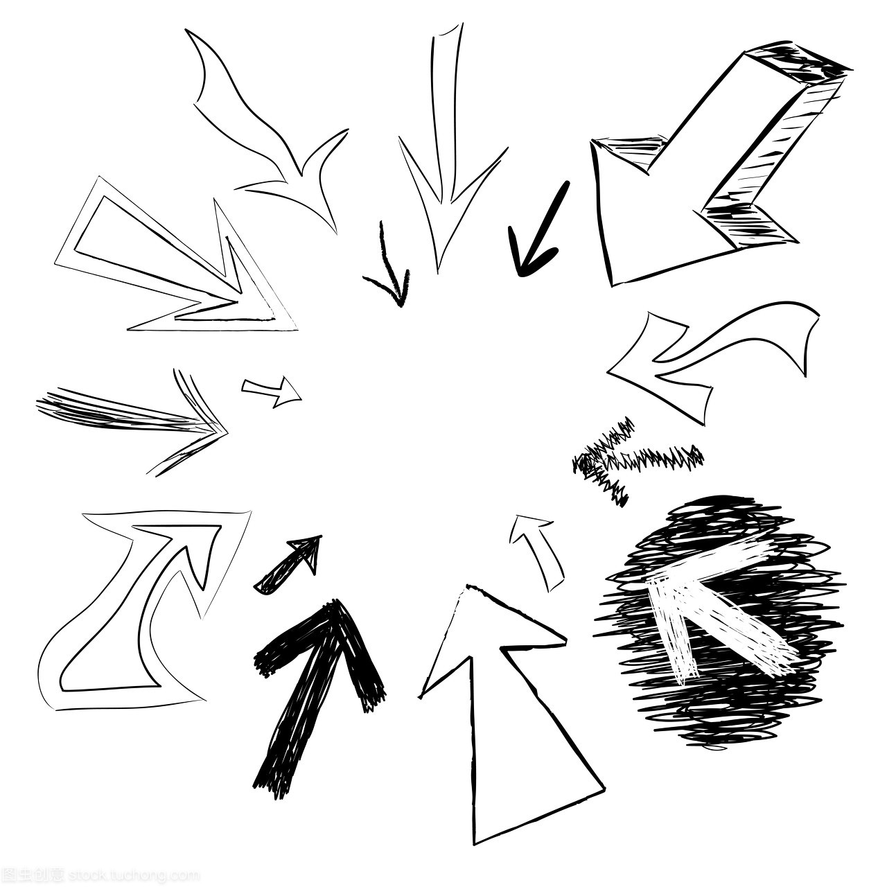 圆圈,墨水,草图,圆形,背景,圆,艺术,图纸,美术,外打印图纸道路怎么图片