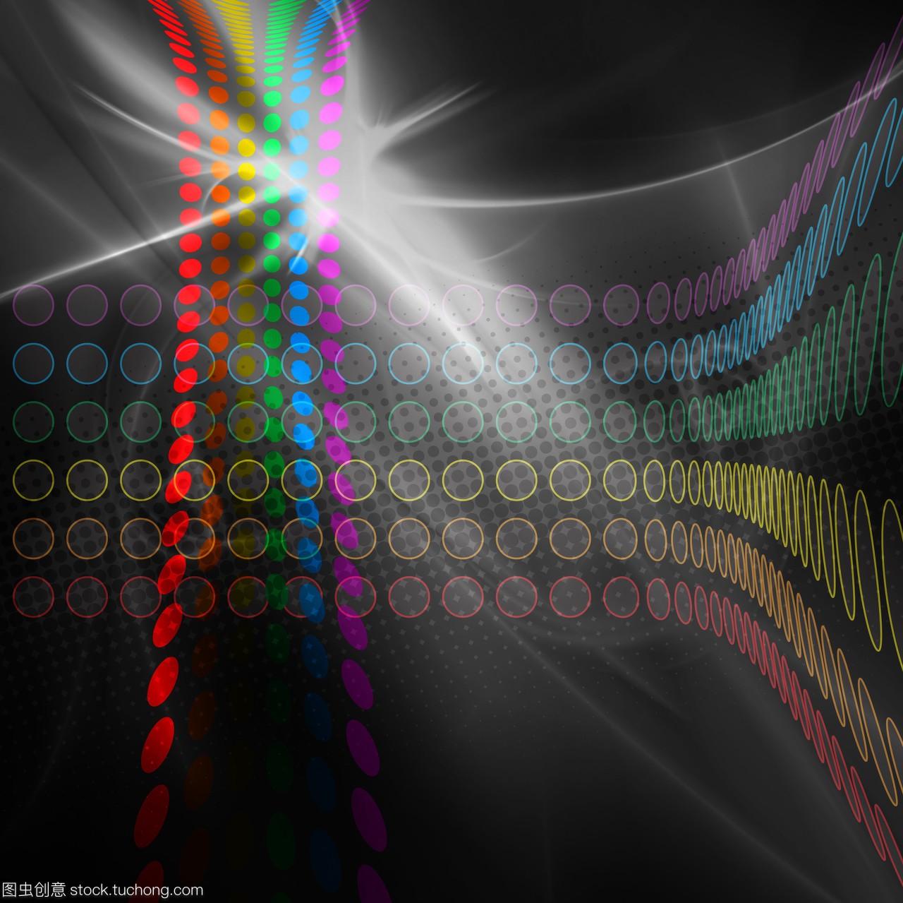 弯,坡口,彩虹,弯曲,抽象,抽象派,彩色,排,曲线,杂图纸u型摘要图片
