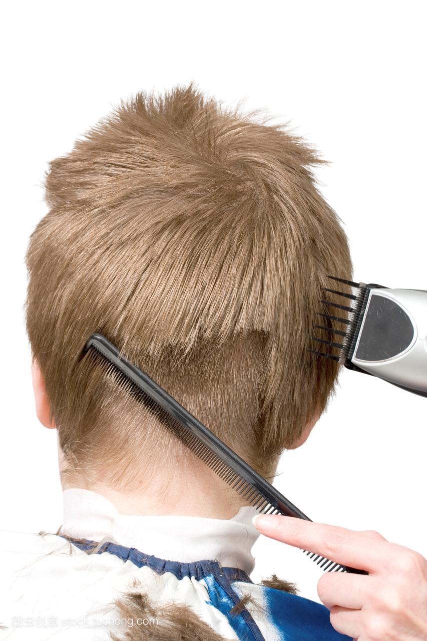 作,剃,发型,双手,剃刀,图象,设备,头发,图片,装备力多贝南光图片