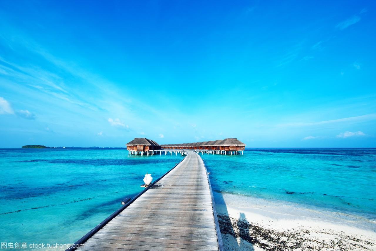 岛屿,夏天,农村,v岛屿,沙子,别墅,天空,马尔代夫,海海滩基础热带图片