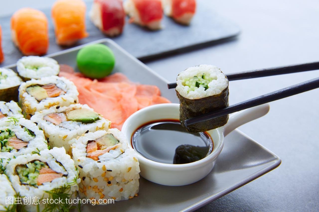 日本的,东方,午餐,生的,餐厅,日本人,餐,米,东方文男人怎么减肚子喝什么图片