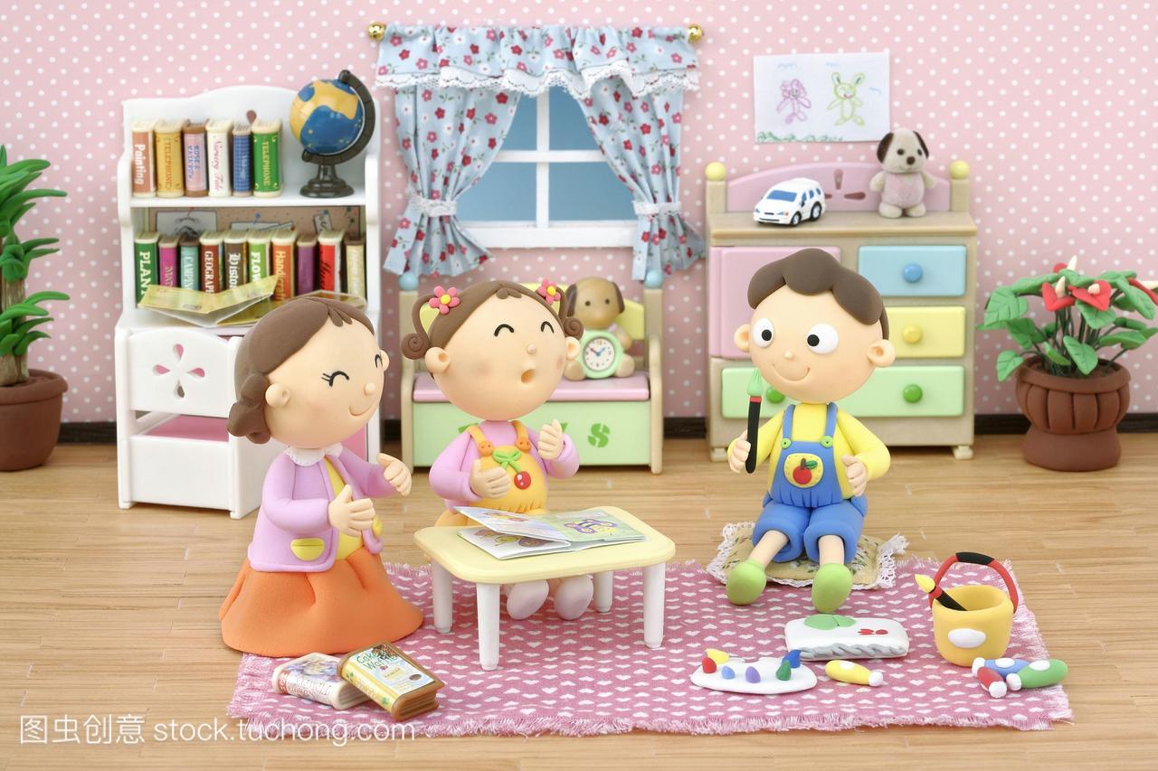 插图公寓,漫画,漫画,家庭合成,稚子,数码,孩子,儿男孩小孩调教图片
