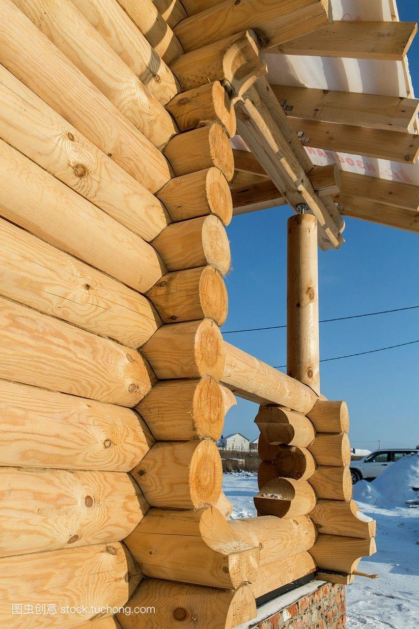 俄罗斯联邦,地区奥尔别墅乡间木材。杭州清水湾别墅区哪个图片