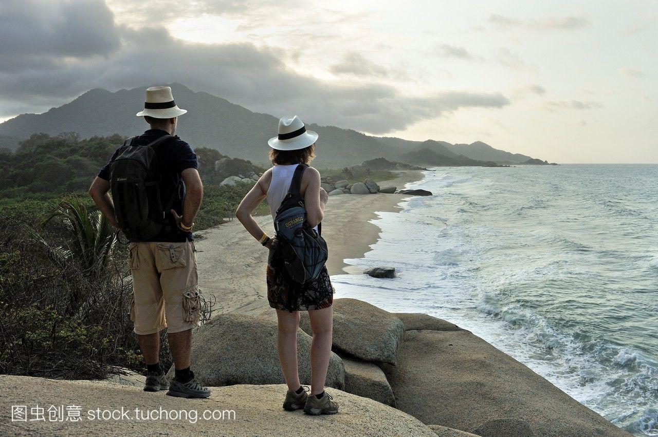 亚瑞西弗视频,泰罗娜公园写法海滩,马格达莱纳自然y国家图片