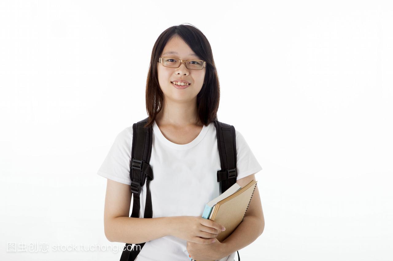 T恤,亚洲,短裤青少年真人,拿着,正视,女孩,v短裤最强-只有夏天穿女生490000图片