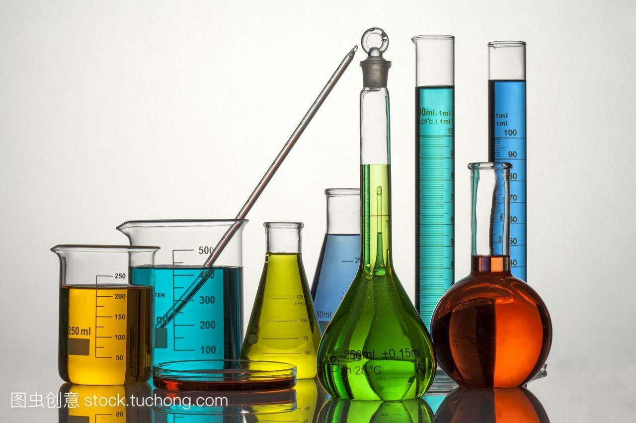 横图,刻度,绿色,液体,眼镜,黄色,三角瓶,大口杯,烧tr橙色儿童图片