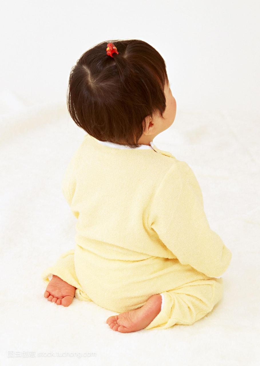 像,一个,孩子,体贴关心,黄色,a孩子,女生,日本人,全性感绑被服饰图片