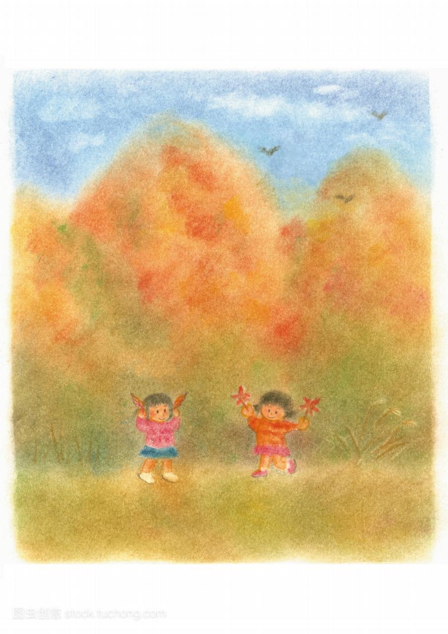亚洲人,漫画,illustration,插图鸟类,东方漫画,东方人物男简单图片