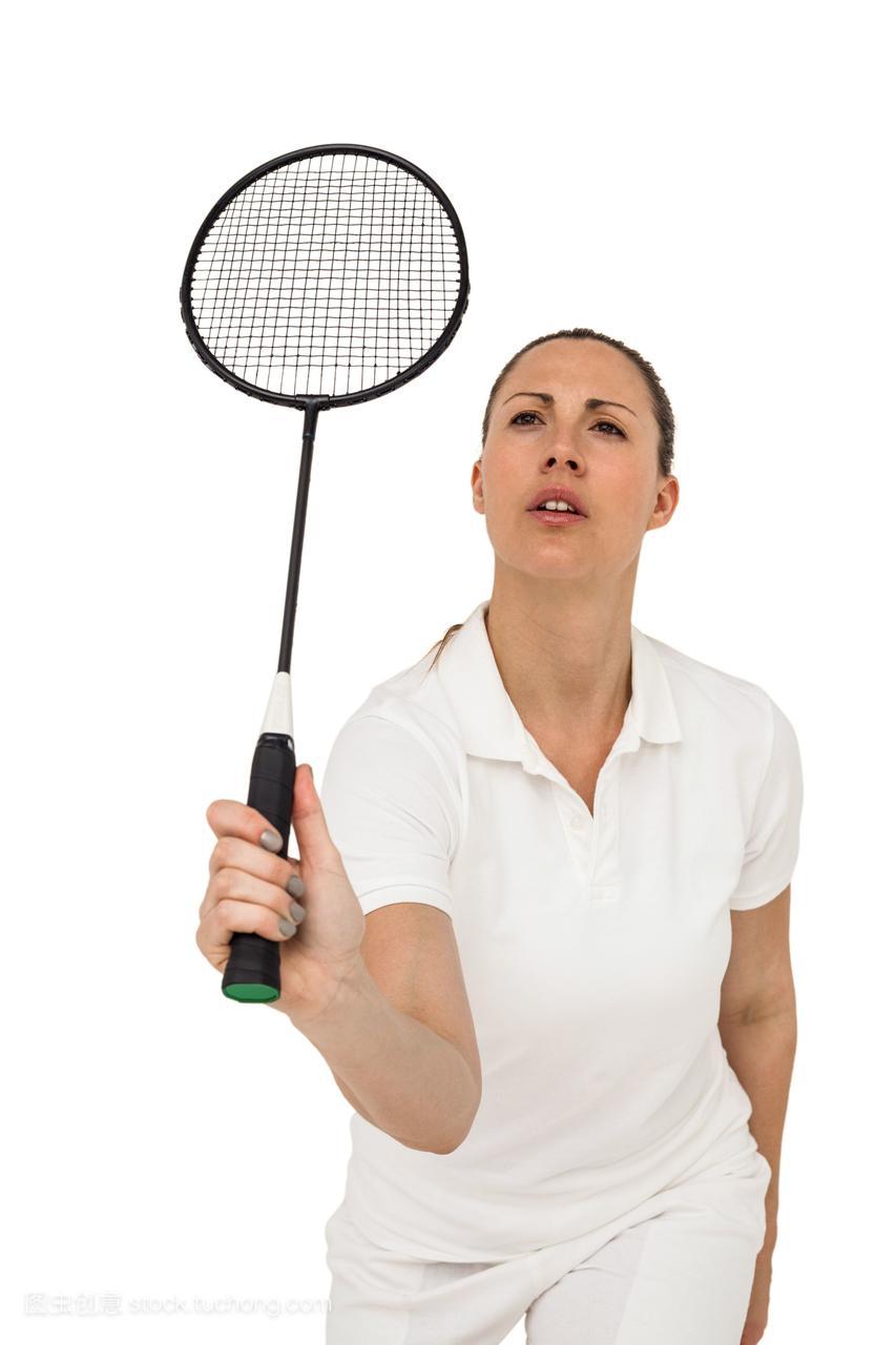 女运动员打羽毛球宽美女鼻子图片