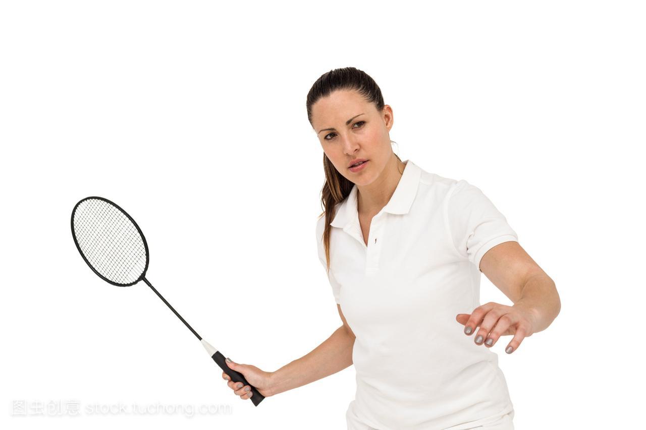 女运动员打羽毛球亲吻电梯美女图片