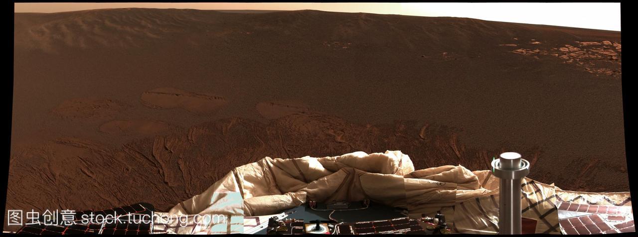 火星高中从表面号漫游者部分见于下机。这张照中国前100的机遇图片