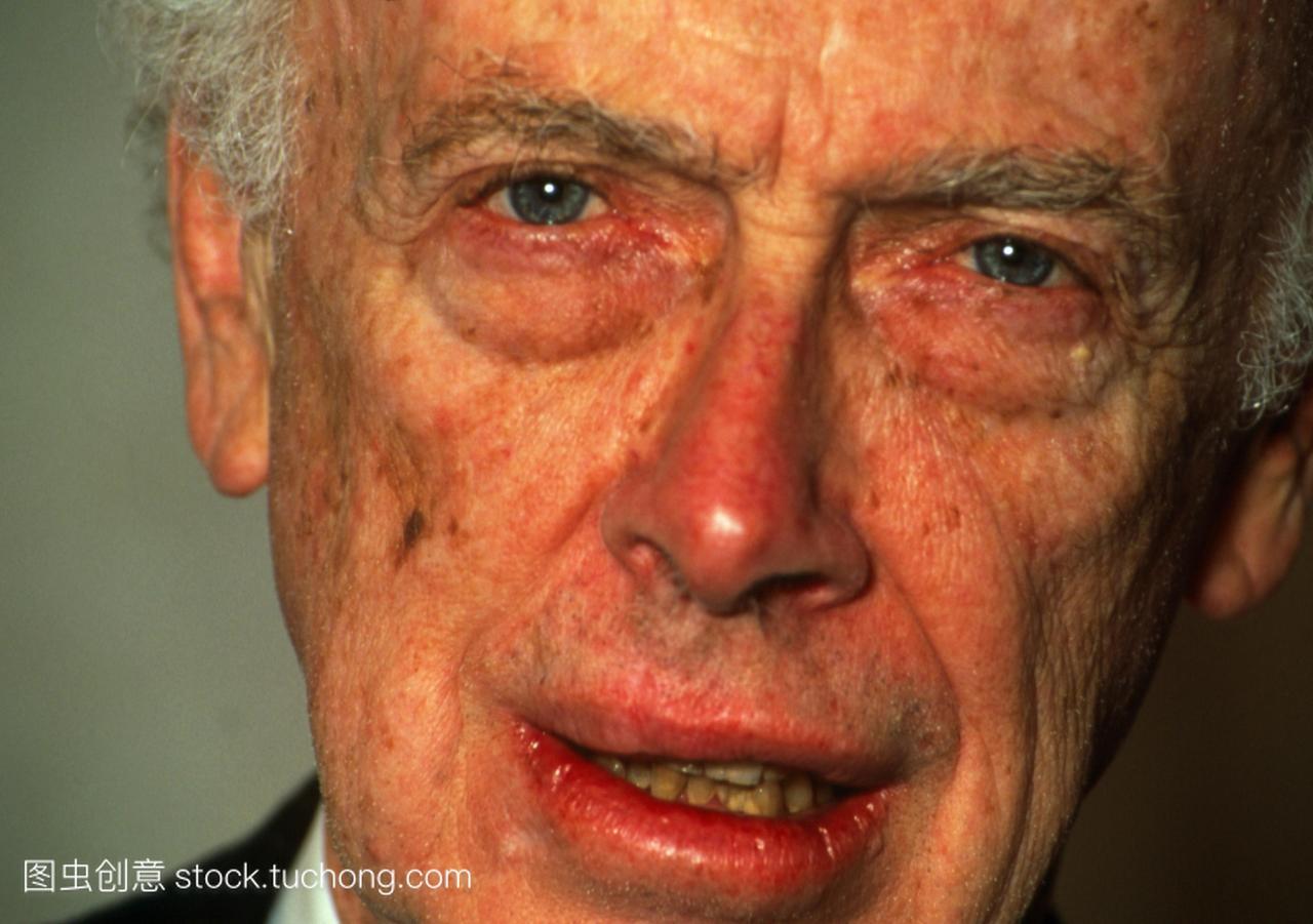 姆斯杜威沃森1928年出生,美国生物化学家免费私视频库图片